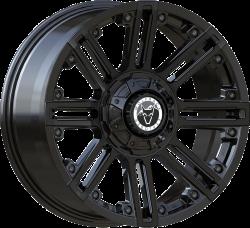 Wolfrace Explorer - Amazon (Matt Black / Black rivets)